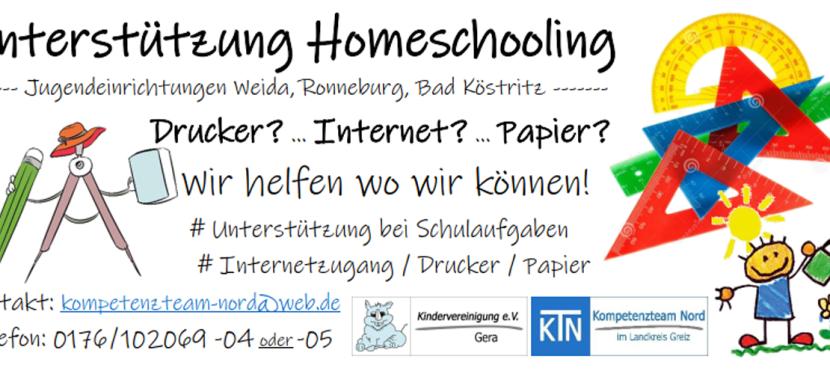 Homeschooling in derJugendarbeit