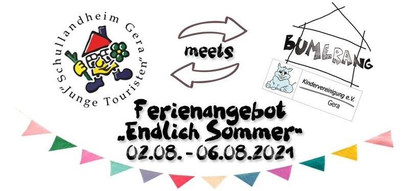 Schullandheim meets Bumerang